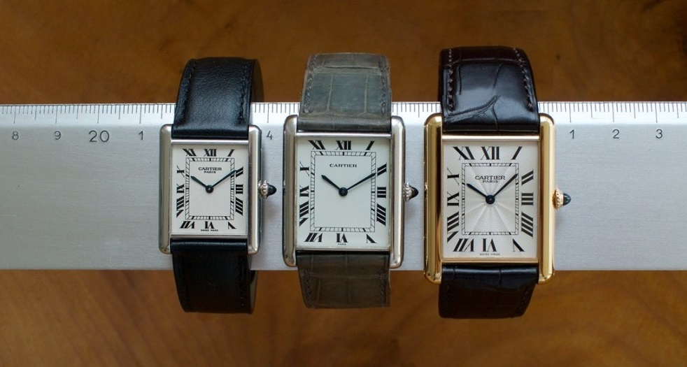 Replica Louis Cartier, Tank King three Size