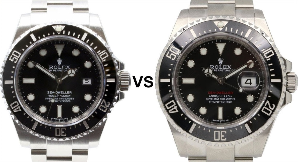 Replica Progressive Sea-Dweller Rolex 126600 VS 116600