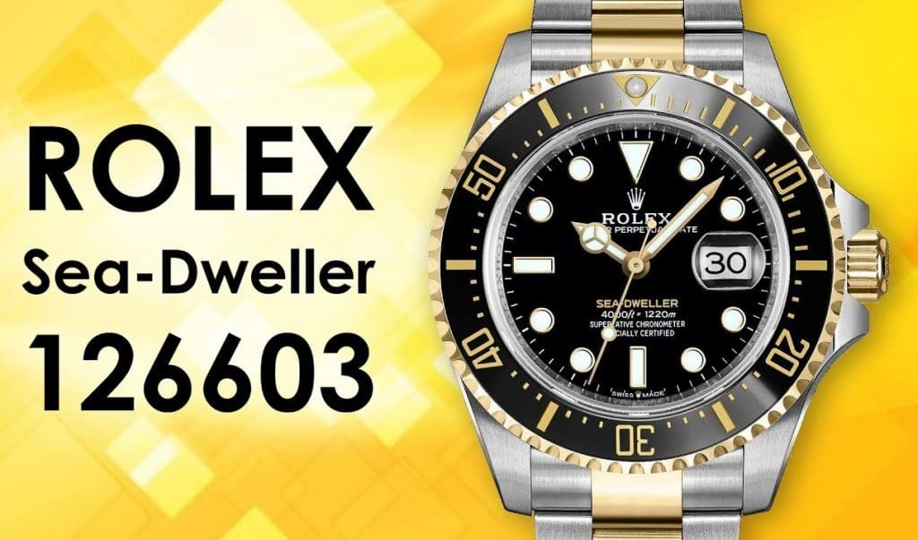 Rolex Sea-Dweller 126603 Imitation