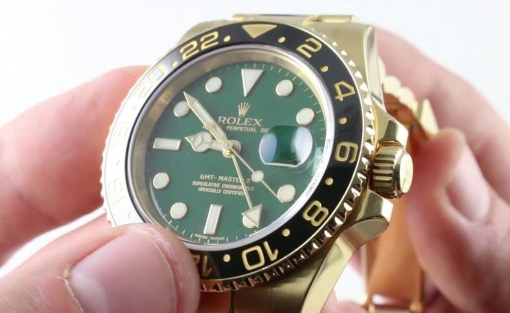 Fake Rolex GMT-Master 116718LN watch