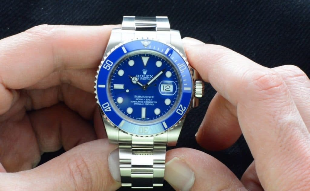 Rolex 100th Anniversary Submariner 116619 Fake watch