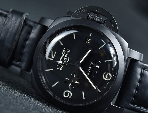 Replica Panerai Luminor PAM00335 With Dual Time Zone