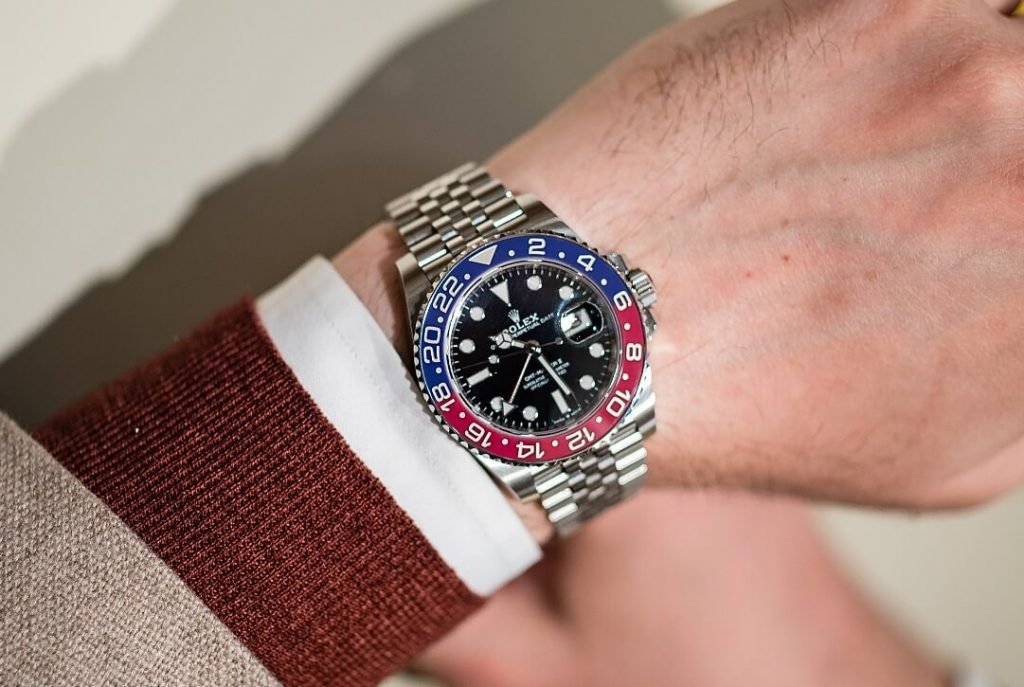 Imitation Rolex GMT-Master 126710BLRO watches