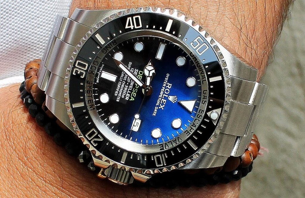 fake Rolex D-Blue Deepsea 116660