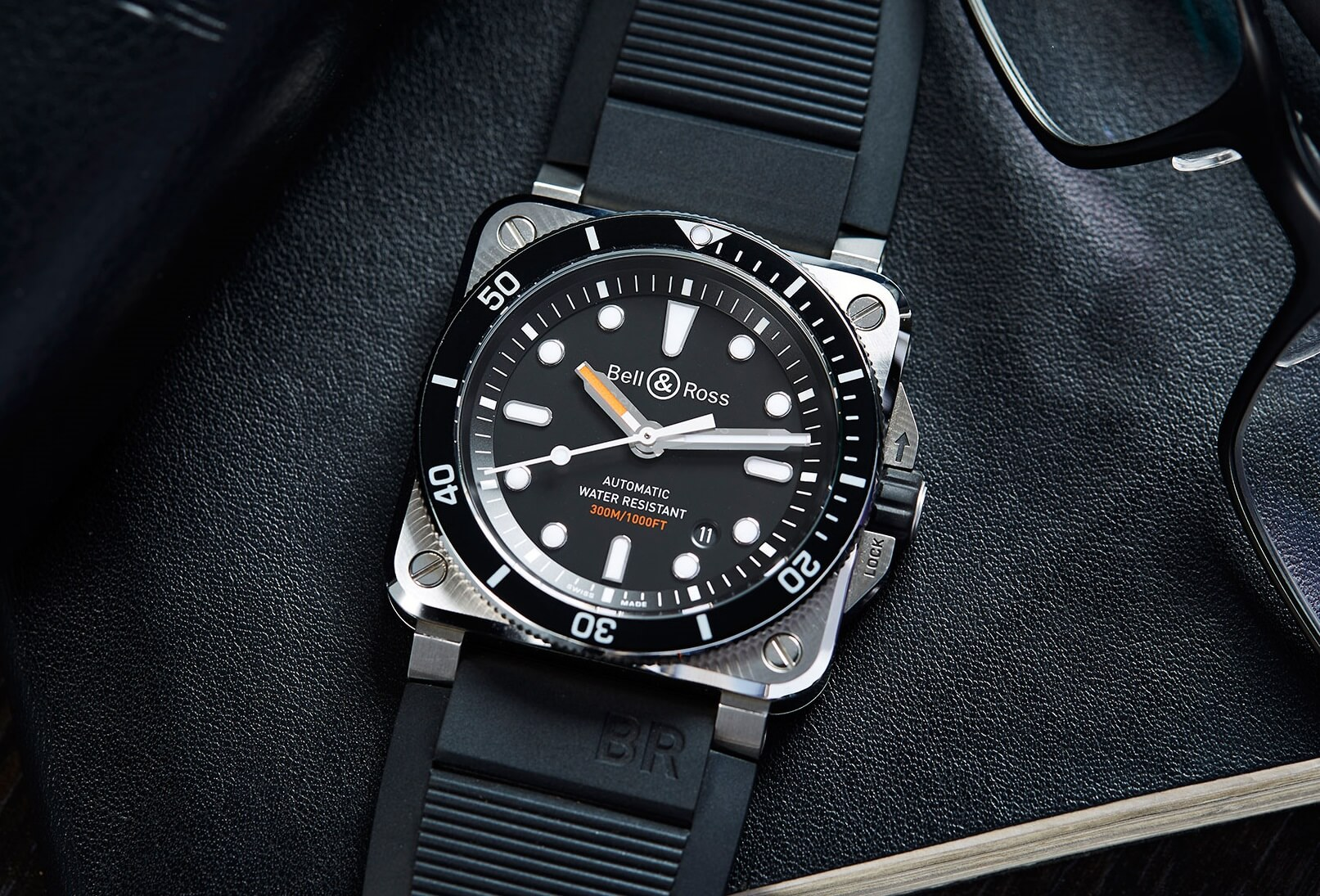 replica Bell & Ross BR 03-92 Diver Black Matte watch