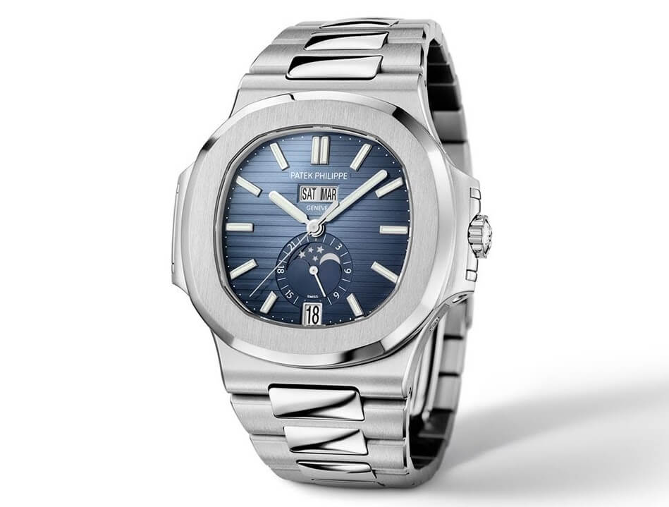 the beat fake Patek Philippe Nautilus 5726-1A watch