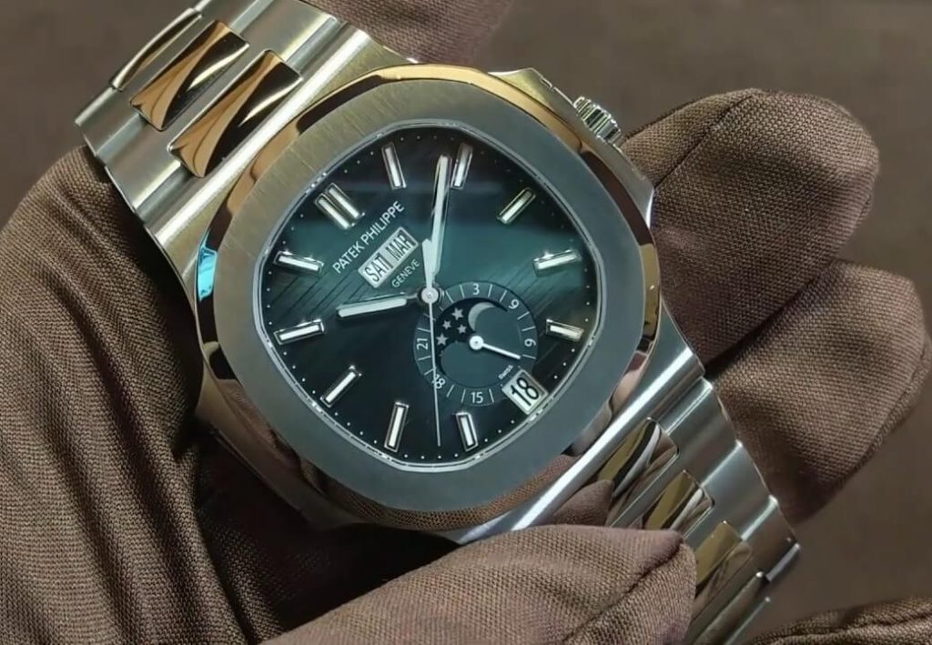 the beat replica Patek Philippe Nautilus 5726-1A watch