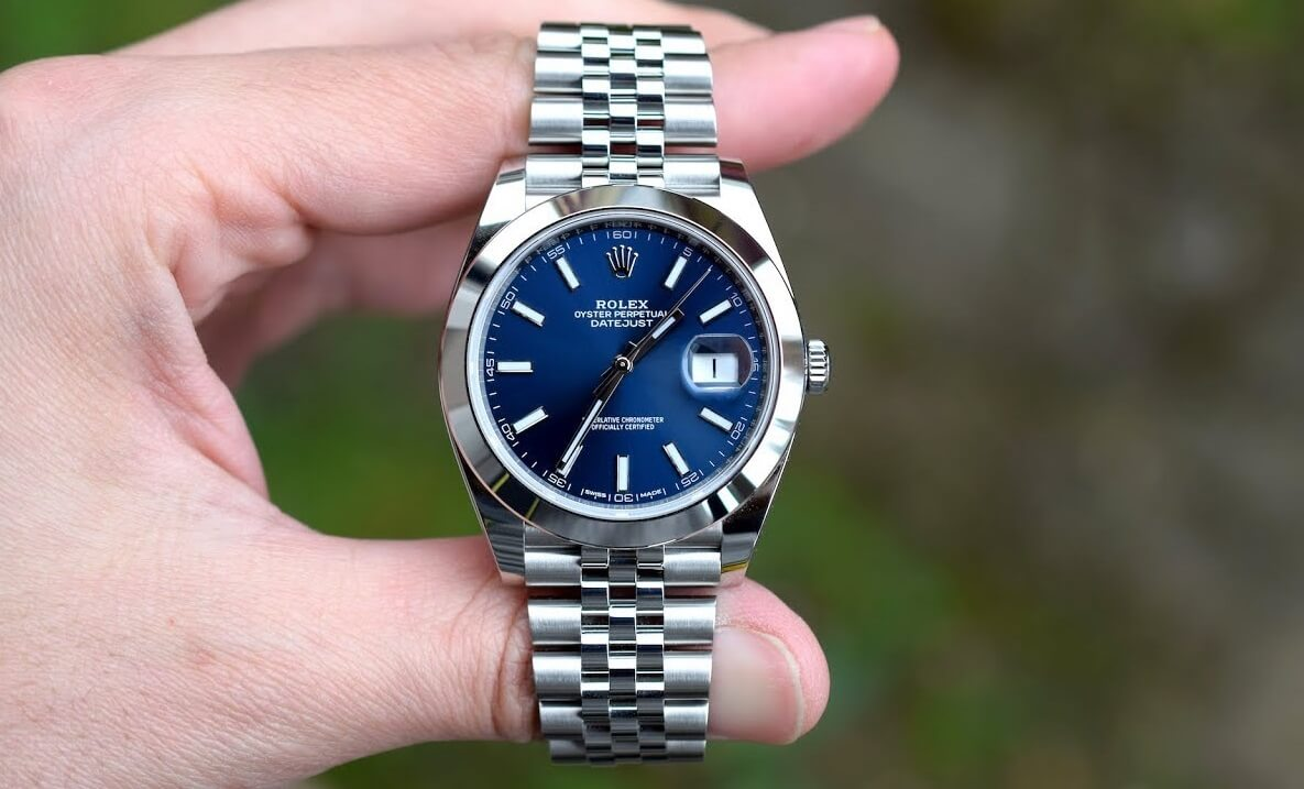 Rolex Oyster Perpetual Datejust 41 126300 In Steel Review