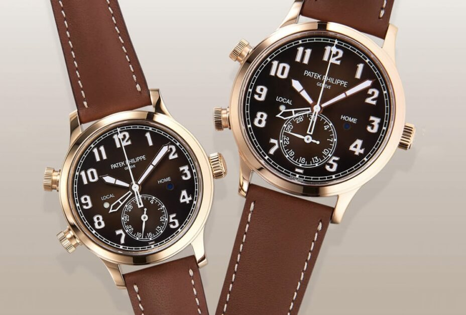 Replica Patek Philippe Calatrava Pilot Travel Time 5524R Watch Review