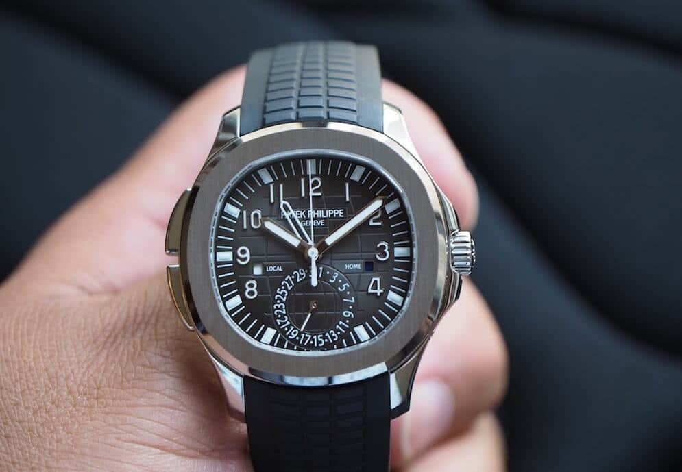 Replica Patek Philippe Aquanaut Travel Time 5164A/5164R Review