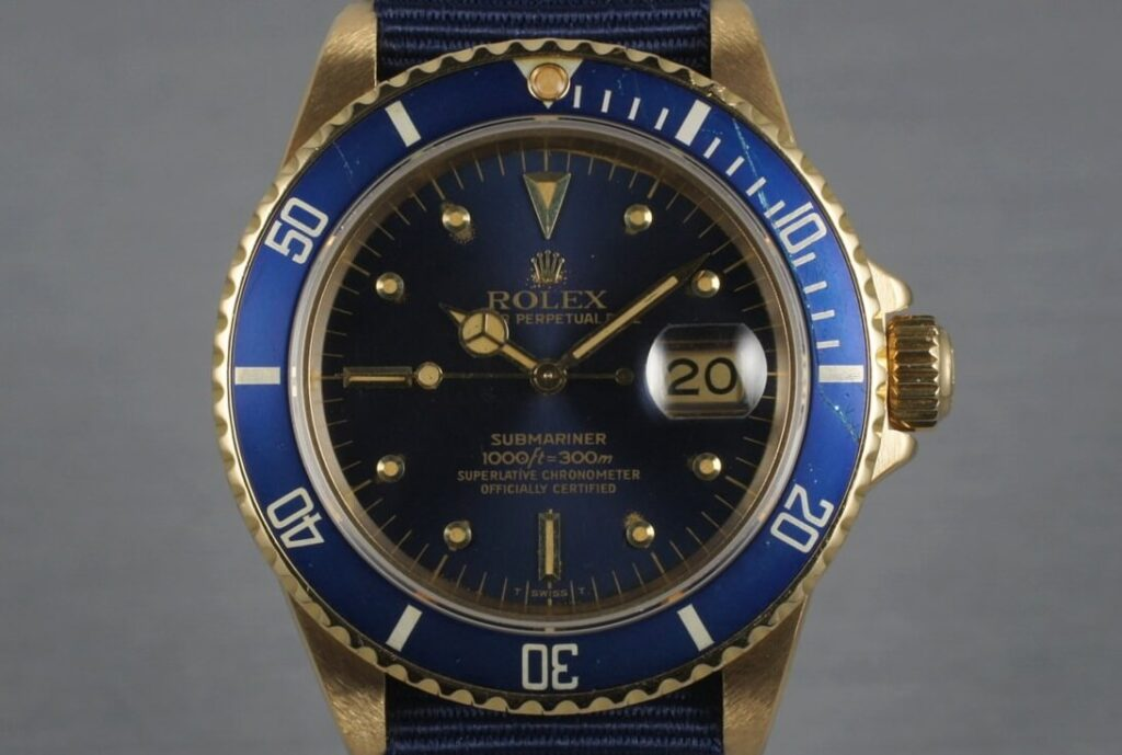 Replica Rolex Submariner 16808 Nipple Dial