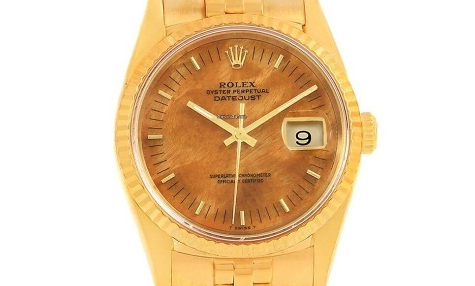 replica Rolex Datejust 16238 Wood Dial
