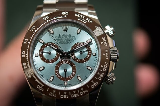 replica Rolex Daytona 116506 Ice-Blue Dial