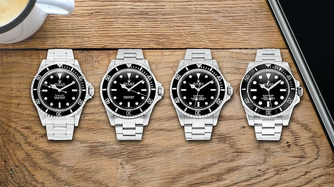 Top 4 Best Selling Replica Rolex Submariner Watches